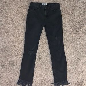 Great heights frayed jeans